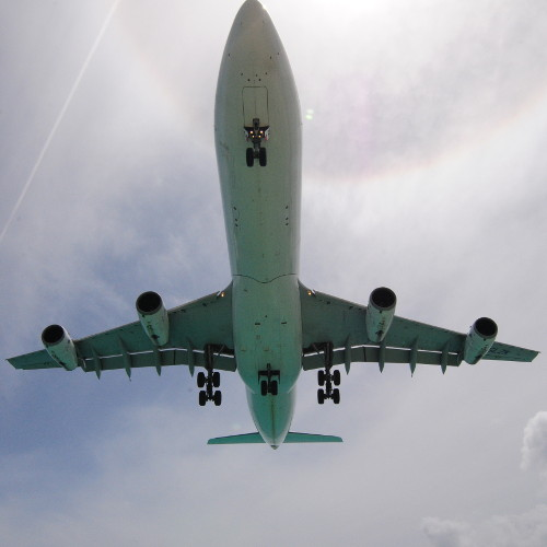 A340 from below